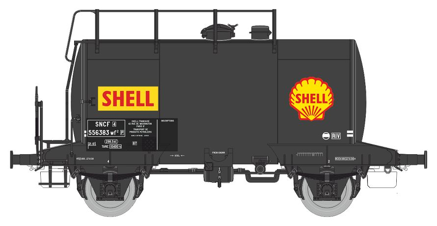 REE WBE-001 tank-car-SHELL