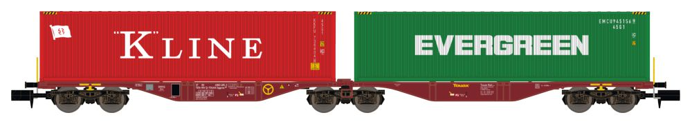 REE - Wagon Port-Container double Ep.V-VI