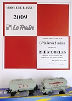 ree modele 2009 le train cerealiers h0