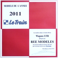ree modele 2011 le train wagon ufr h0