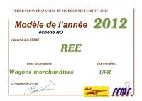 ree modele 2012 ffmf wagons marchandises h0