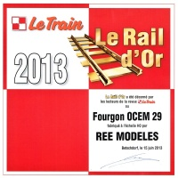 Rail d'Or 2013 de la revue LE TRAIN