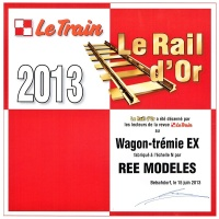 ree rail or 2013 le train tremies ex n