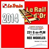ree rail or 2014 le train 231g ex plm h0