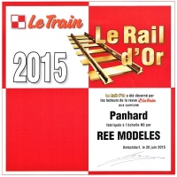 ree rail or 2015 le train camions panhard h0