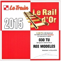 ree rail or 2015 le train vapeur 030tu h0