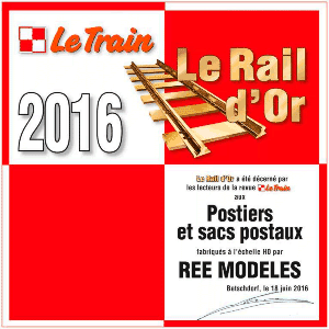ree modeles postiers sacs postaux diplome rail or 2016