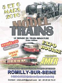 MODEL TRAINS 2016 Romilly-sur-Seine